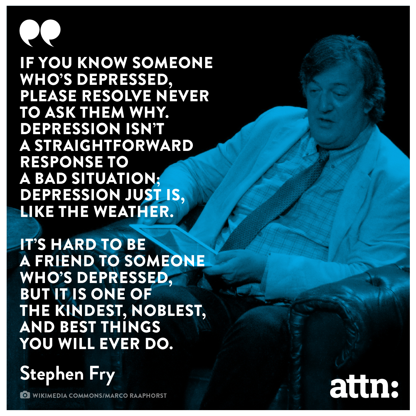 Stephen Fry mental illness