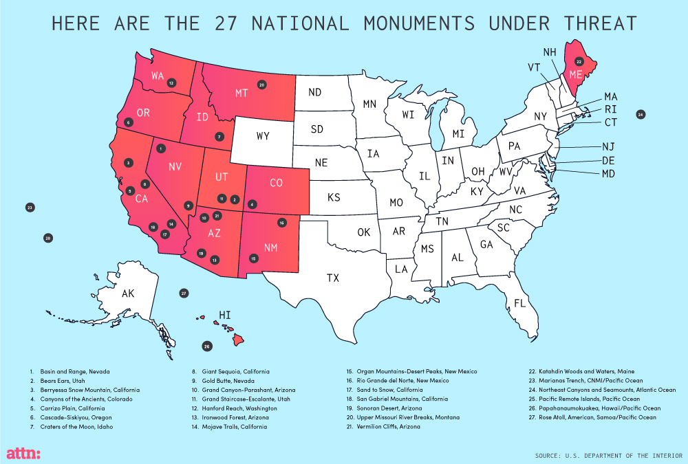 ATTN: Our National Monuments Are Under Threat - Leighton ...