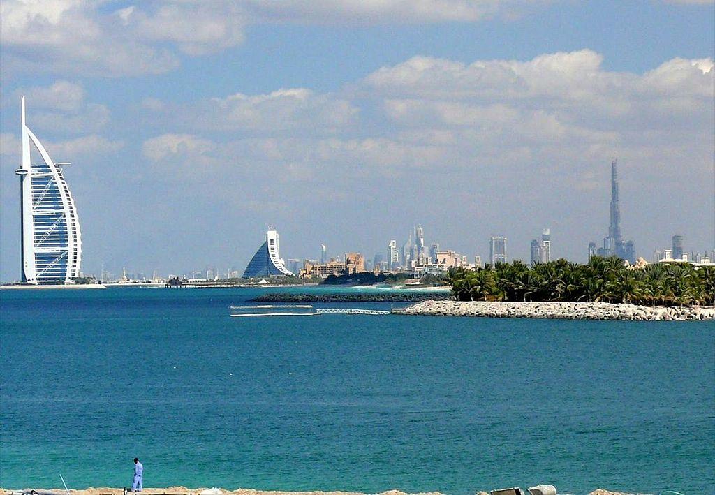 skyline of Dubai