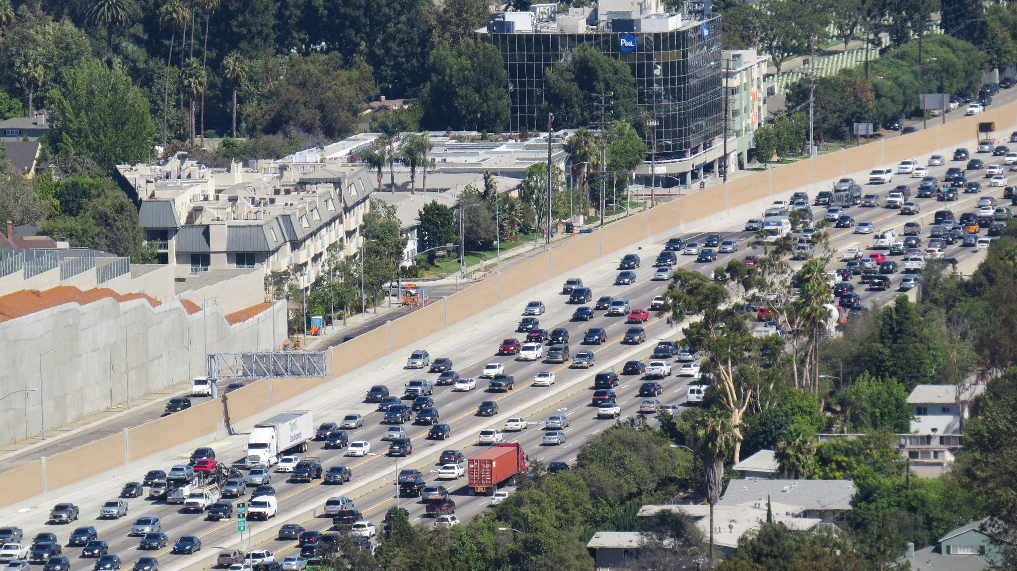 Los Angeles traffic slows the city, but cars are expensive, and transit is lacking.
