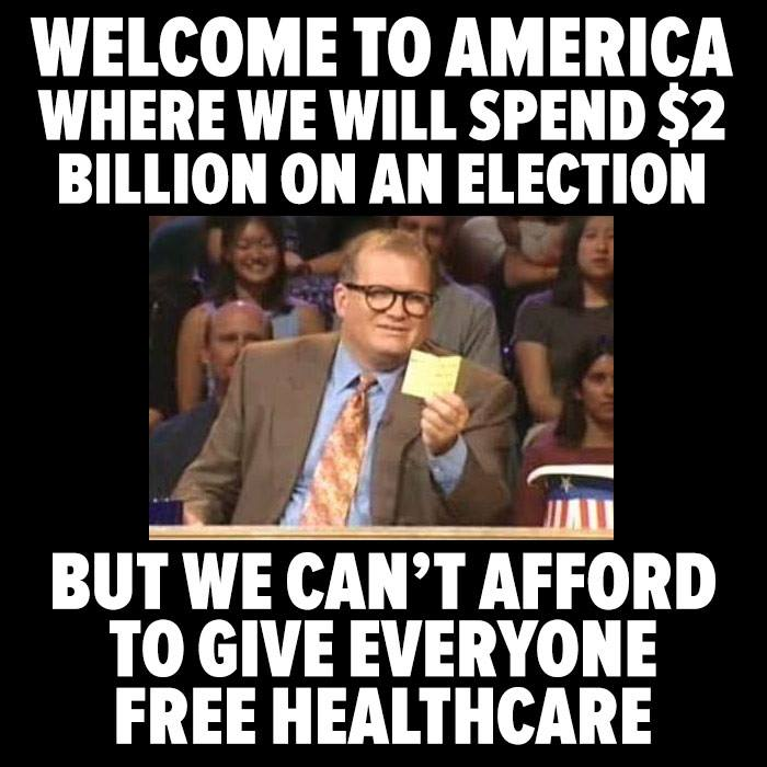 Meme about healthcare.
