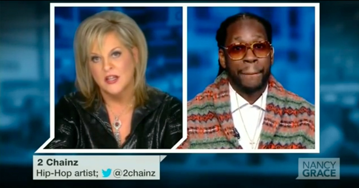 2 Chainz on Nancy Grace