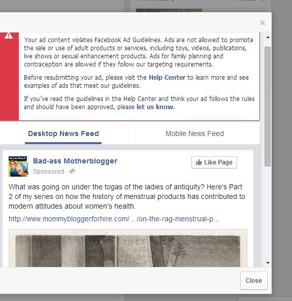 Facebook response to Alaura Weaver