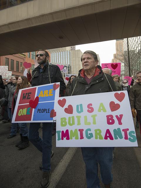 Immigration Protest Minneapolis
