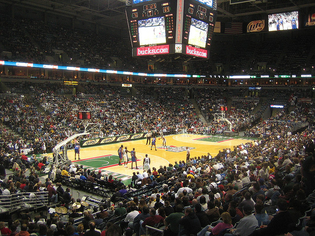 Milwaukee Bucks home game
