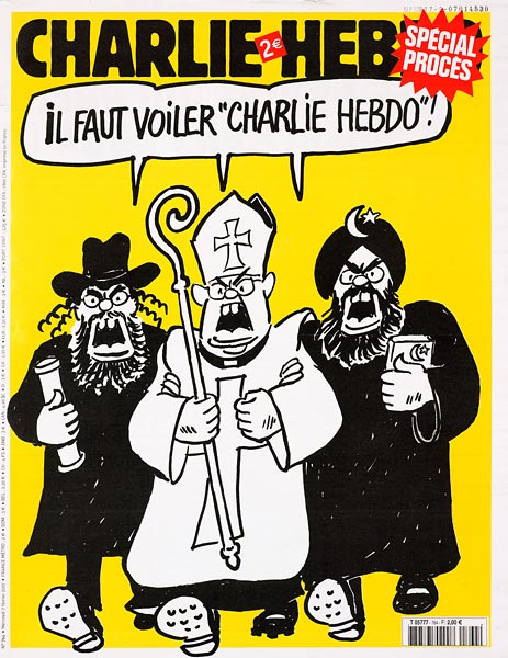 Charlie Hedbo Cover