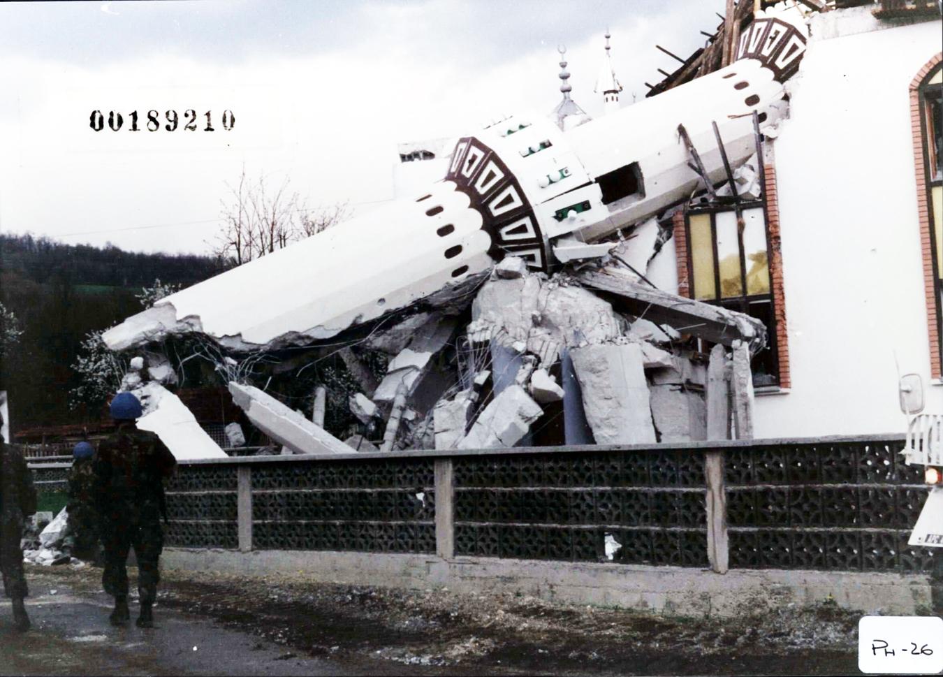 bombed mosque