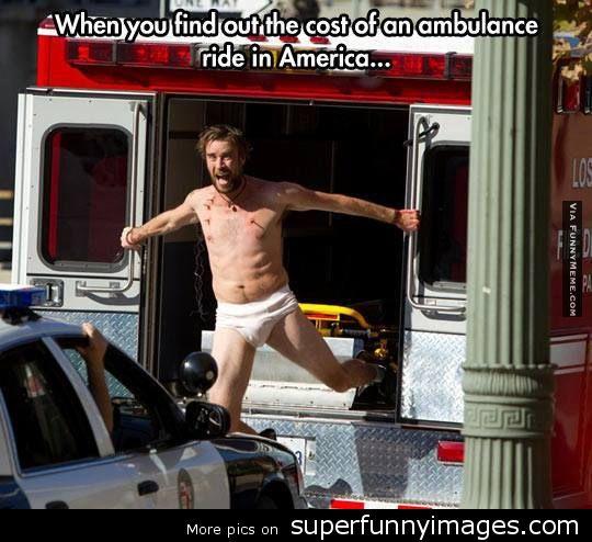 Cost of Ambulance Meme