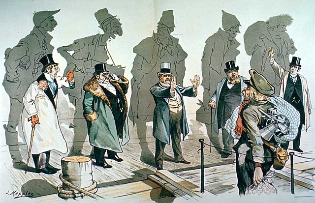 Anti-Immigrant Cartoon