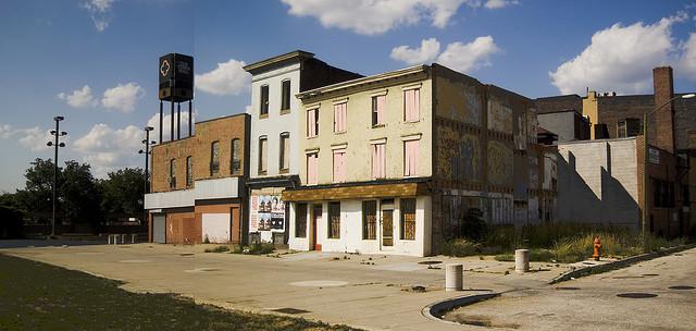 Vacant Buildings Baltimore