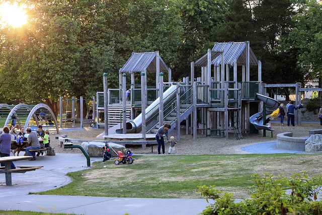 Playground in Seattle.