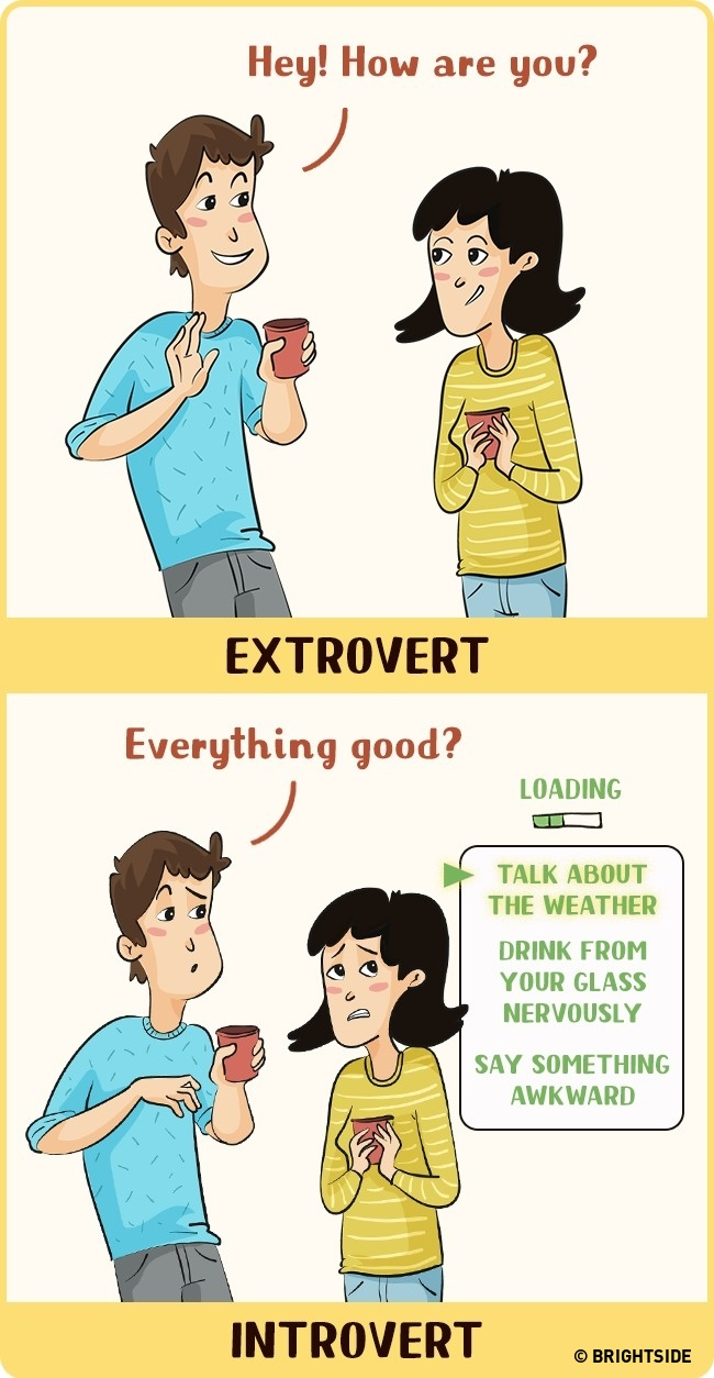 Conversations for introverts and extroverts