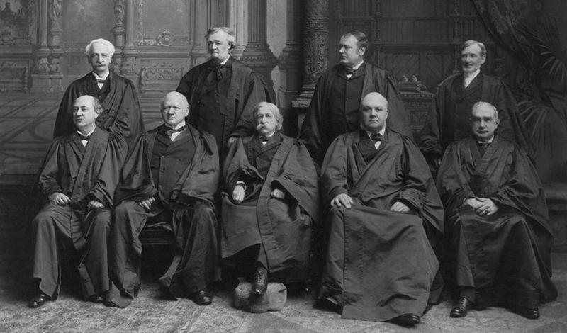 The Fuller Court, 1899