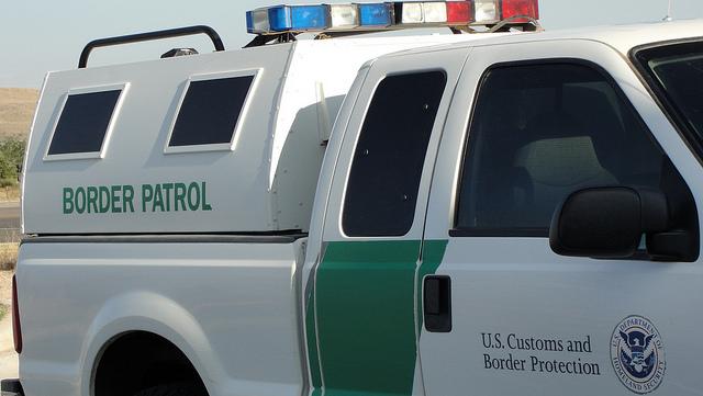 Border Patrol Vehicle in Texas