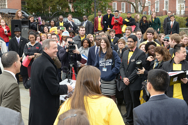 Maryland Tuition Rally
