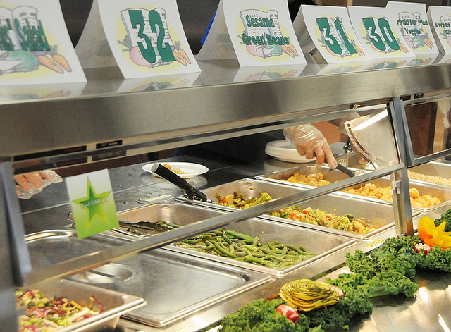 School Lunch Steam Table