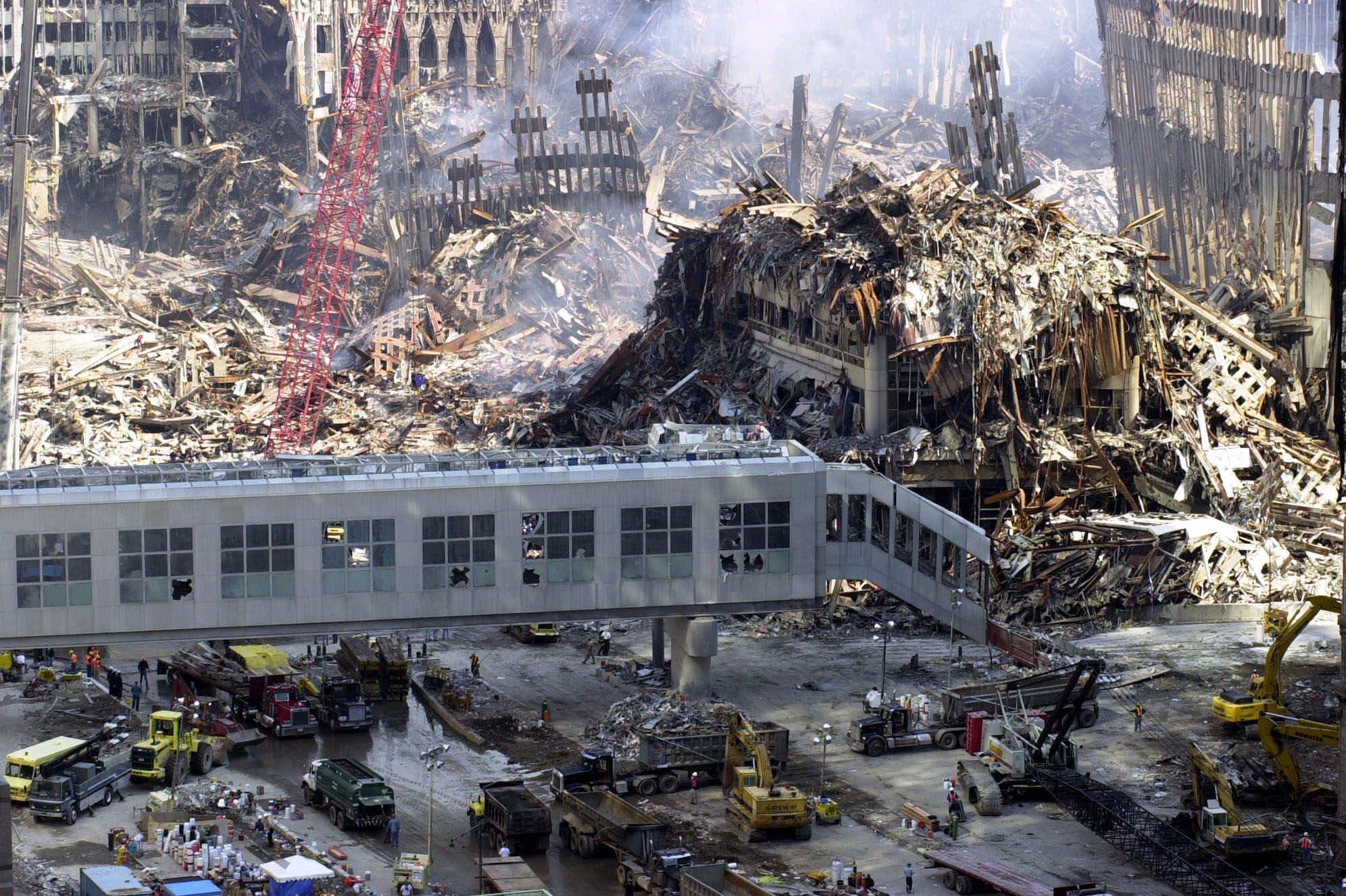 debris 9/11