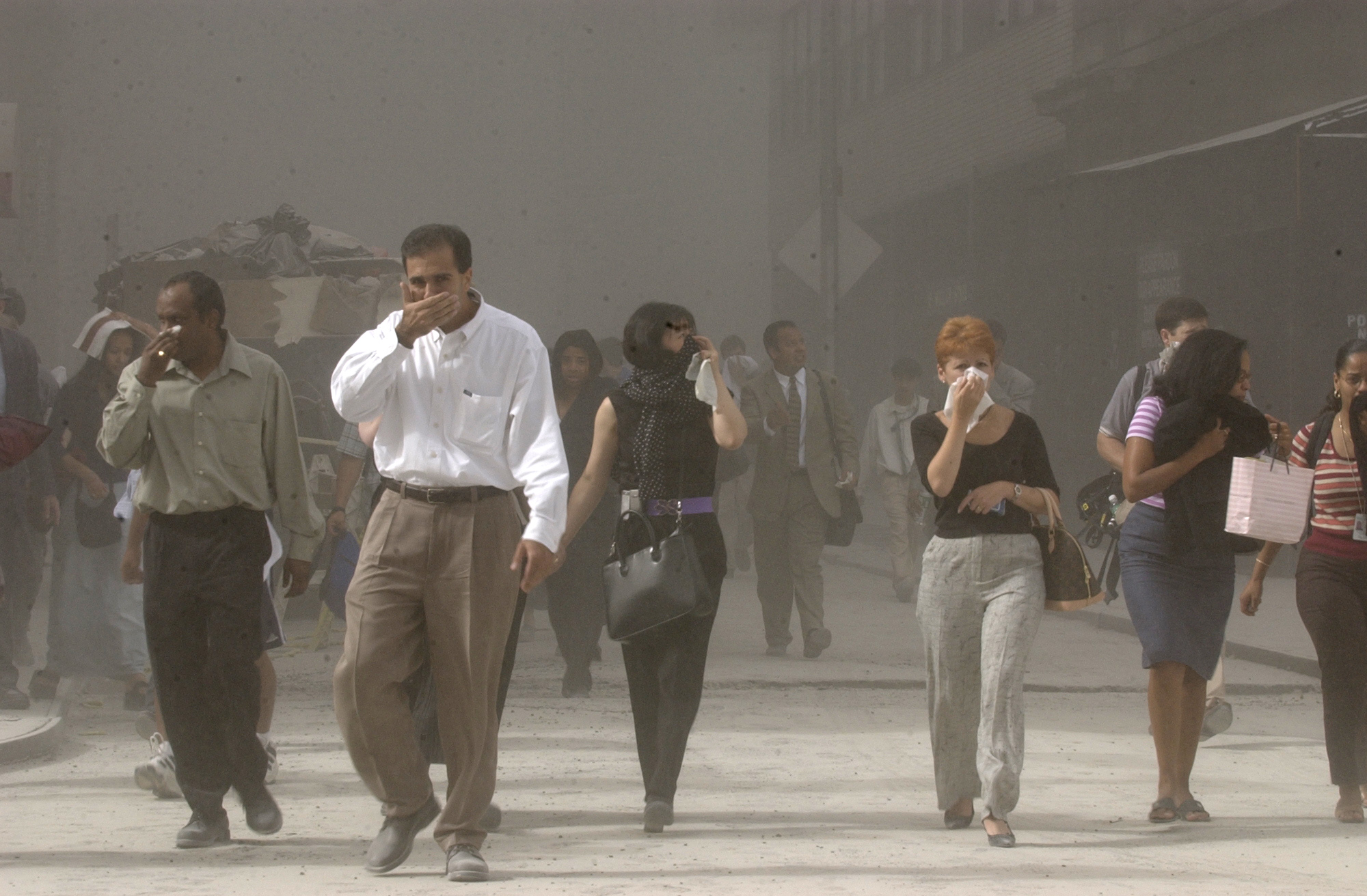 9/11 fumes