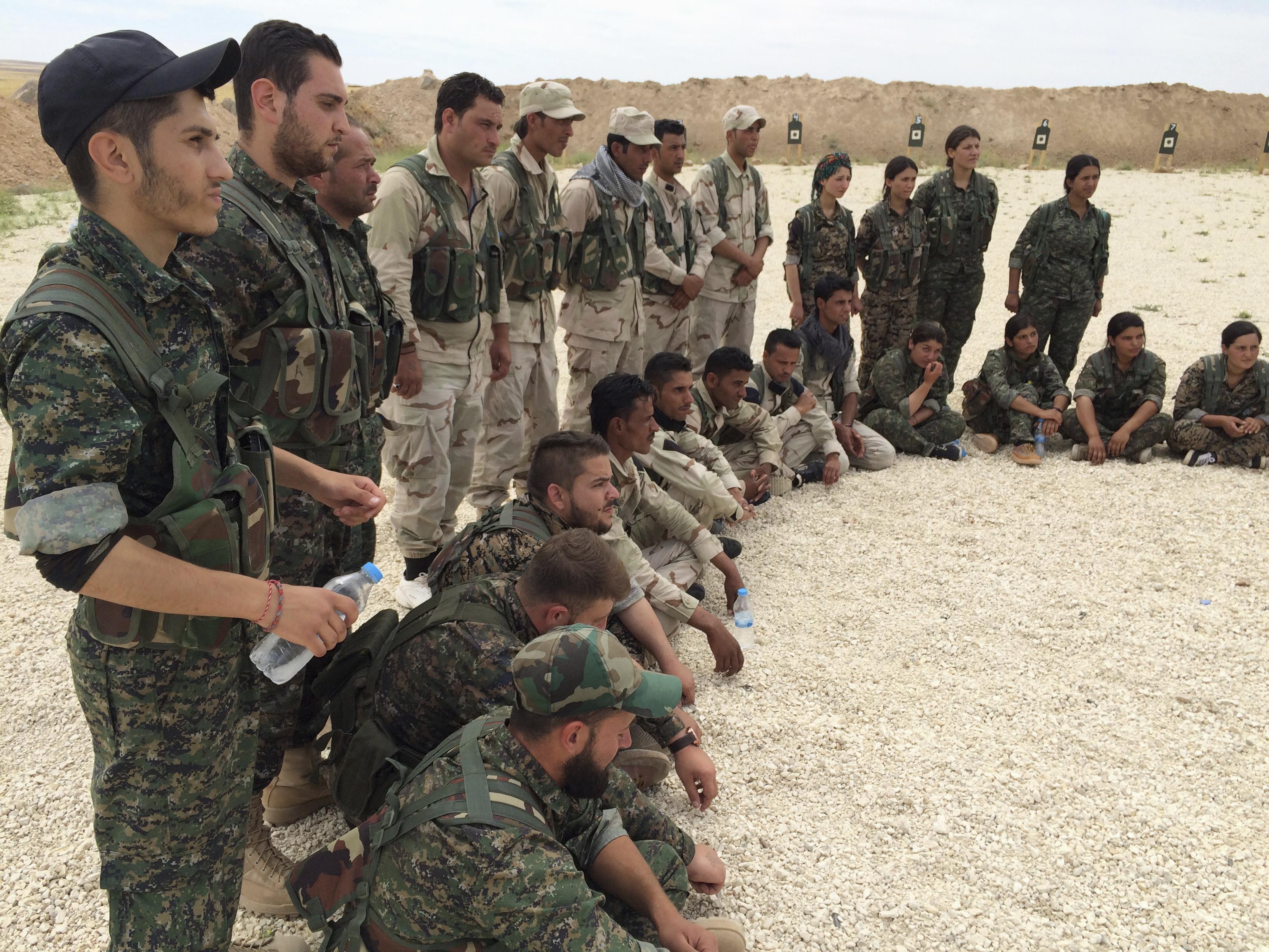 SDF near Raqqa