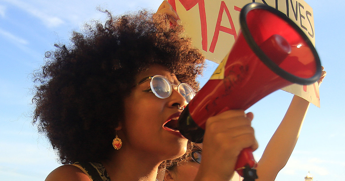 black-woman-and-megaphone
