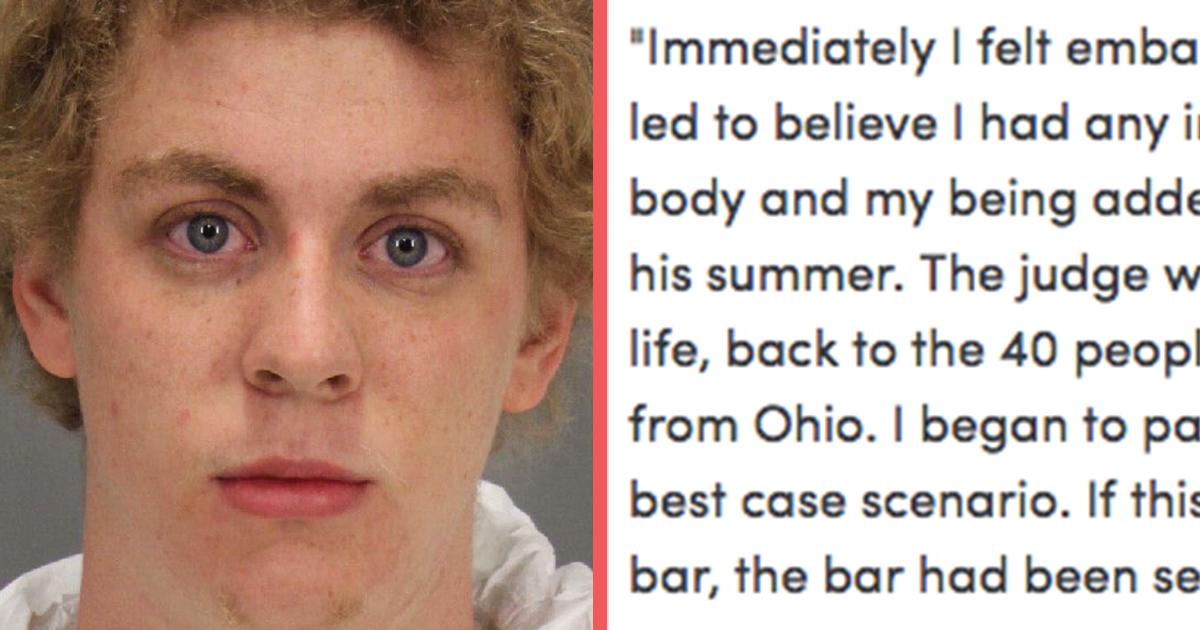 brock turner's victim releases powerful essay - attn: