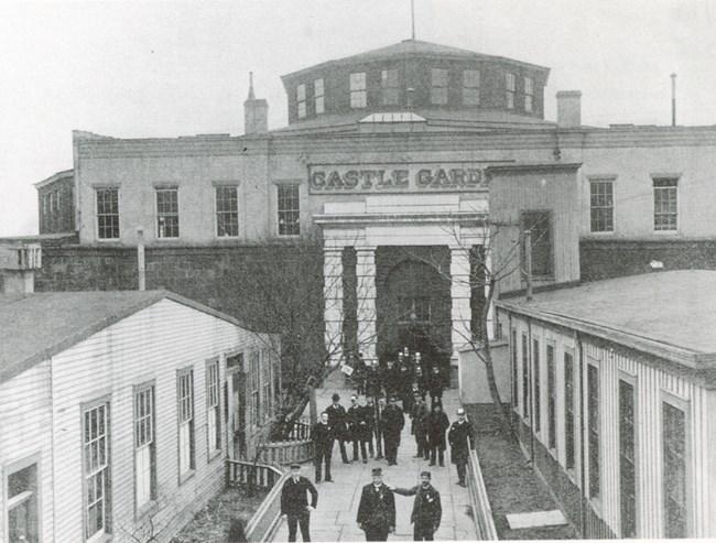 Castle Garden Immigration Station