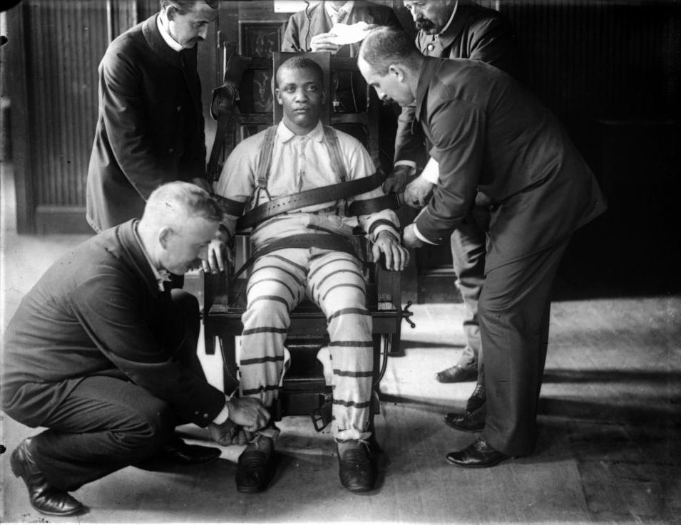 electric chair execution team
