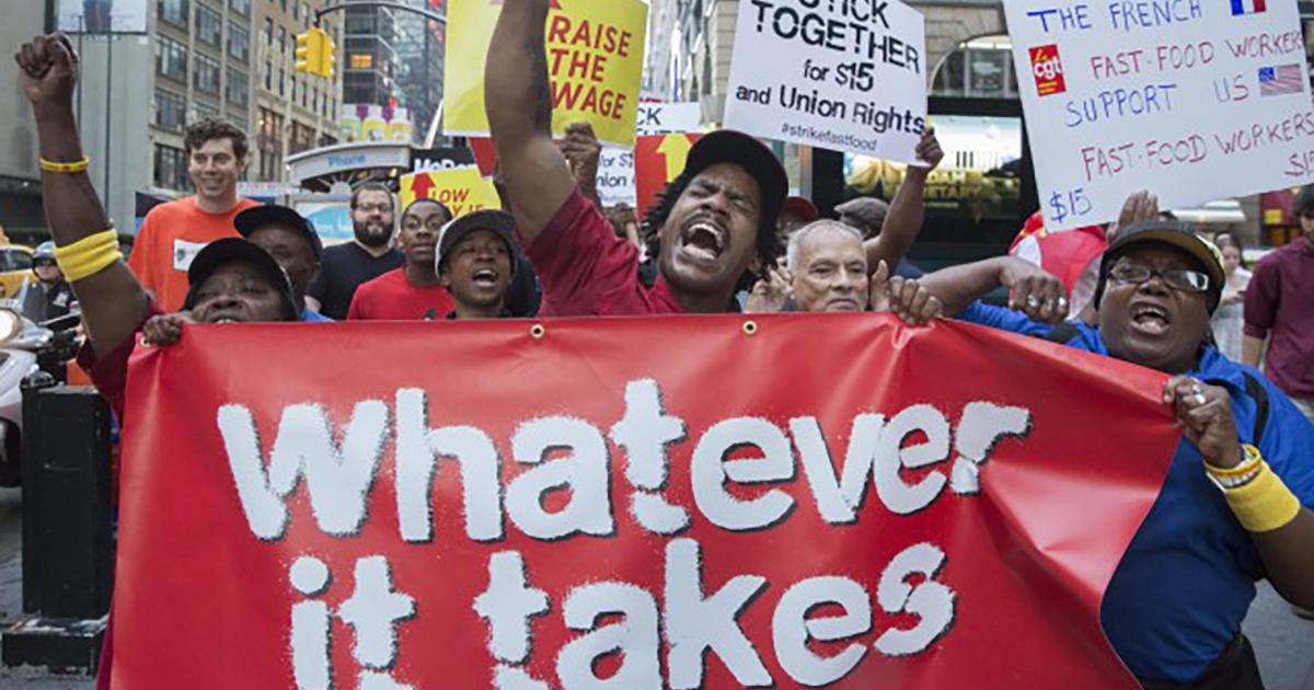 Fight for 15 strike announces minimum wage strike