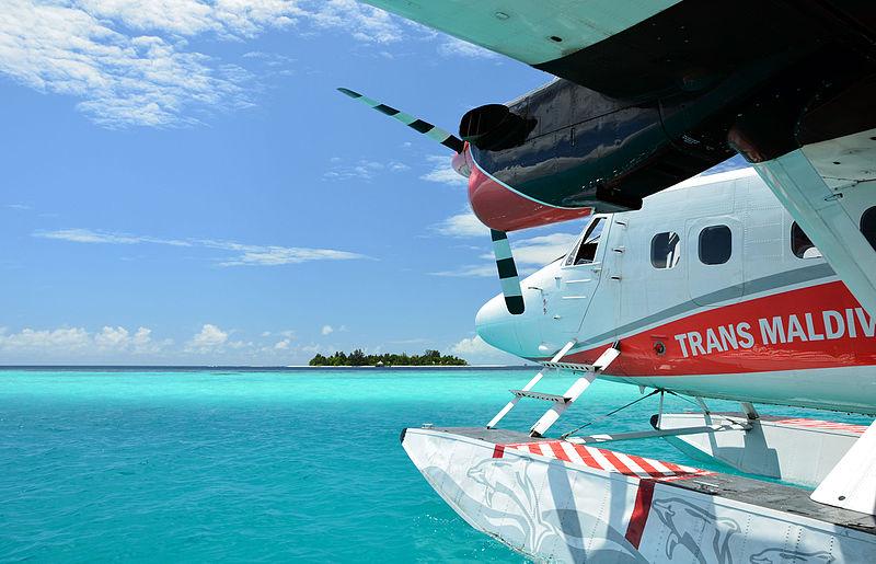 Floatplane at Bathala