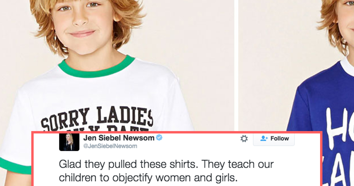Forever 21 Shirts For Young Boys Cause Backlash Attn