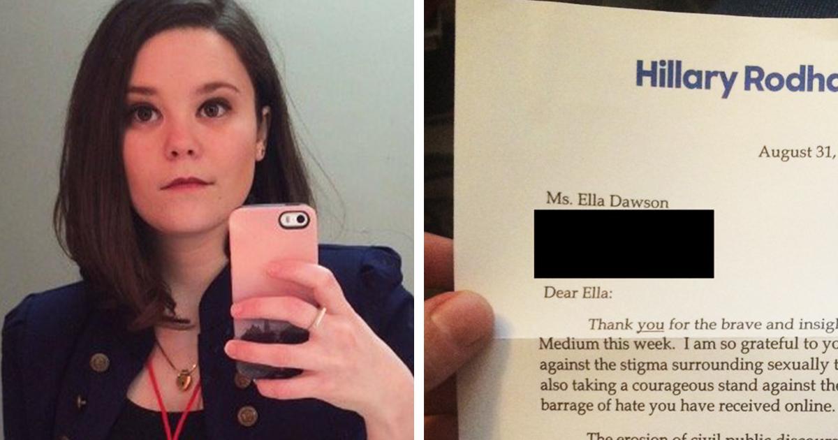 Hillary Clinton Thanks Woman for Shattering STI Stigma - ATTN: