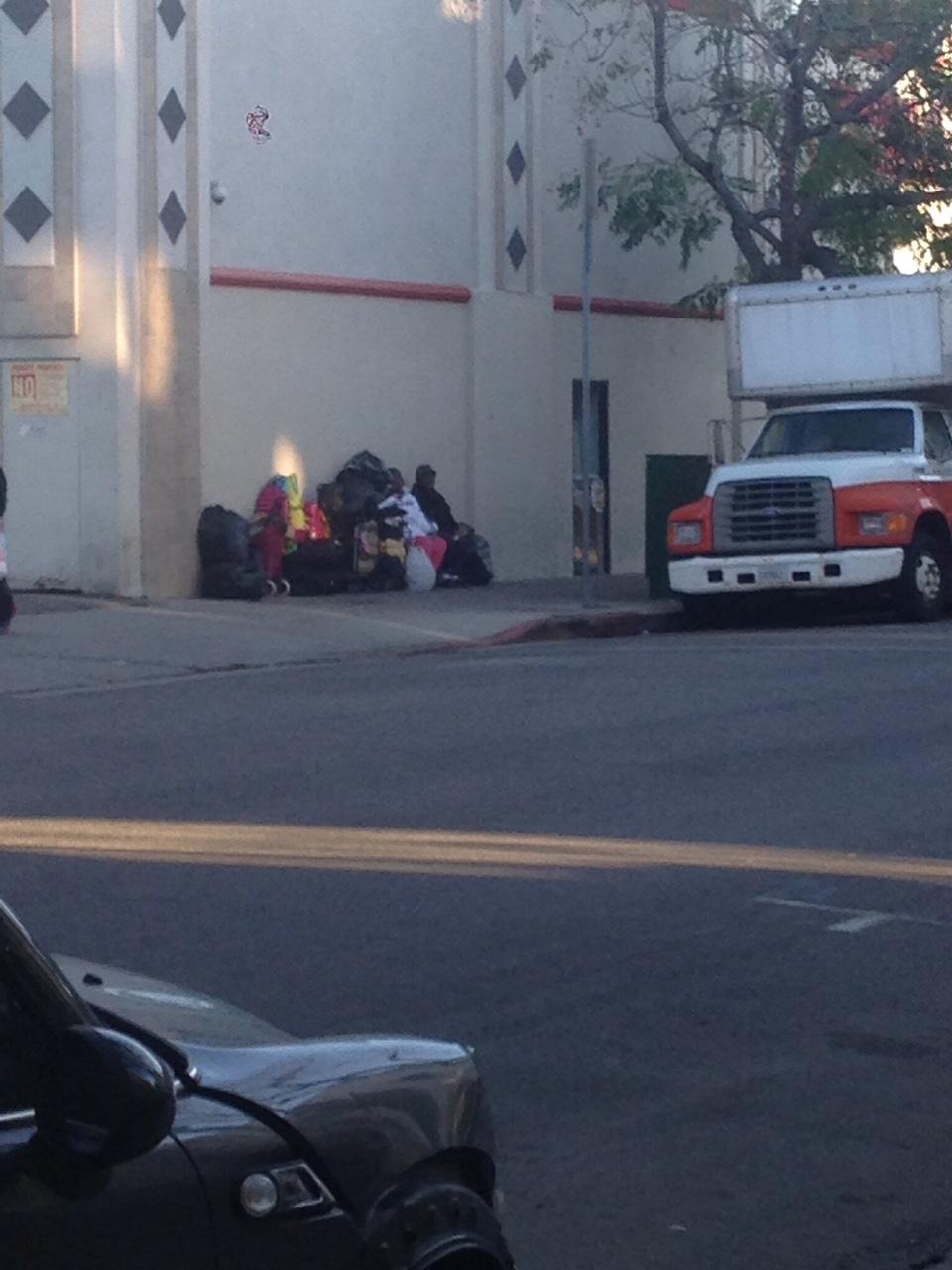 Hollywood Homelessness