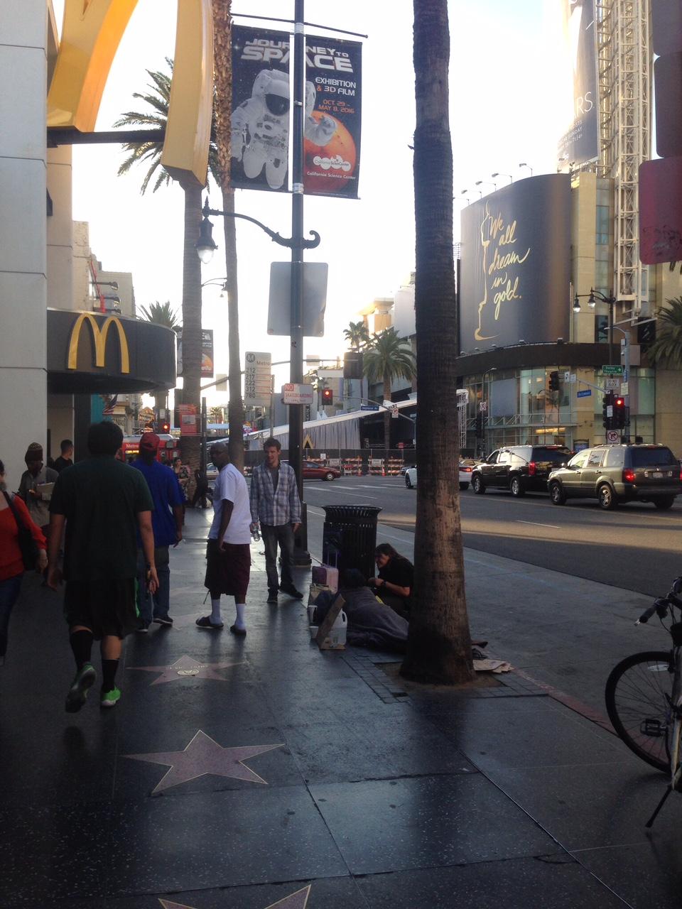 Homelessness Hollywood