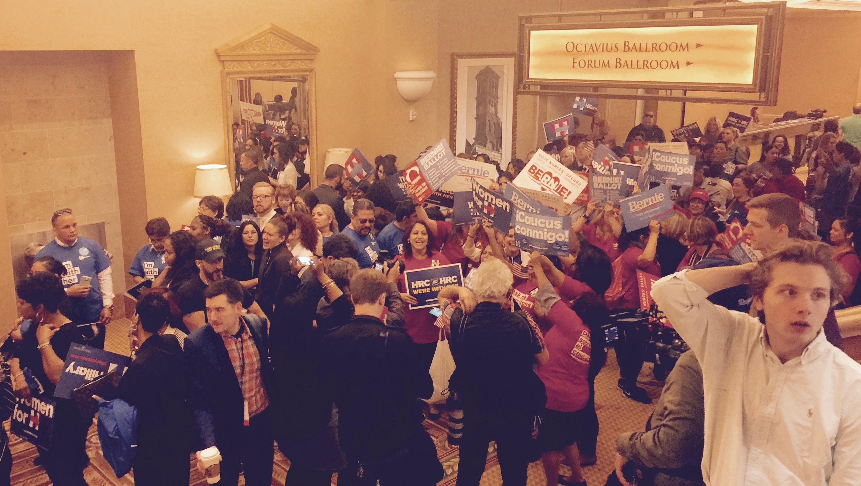 Nevada caucus Caesars Palace las vegas