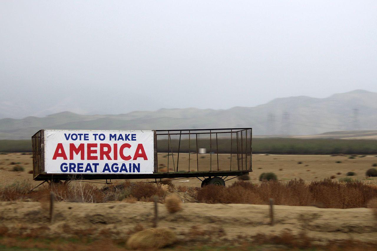 make America Great Again Sign