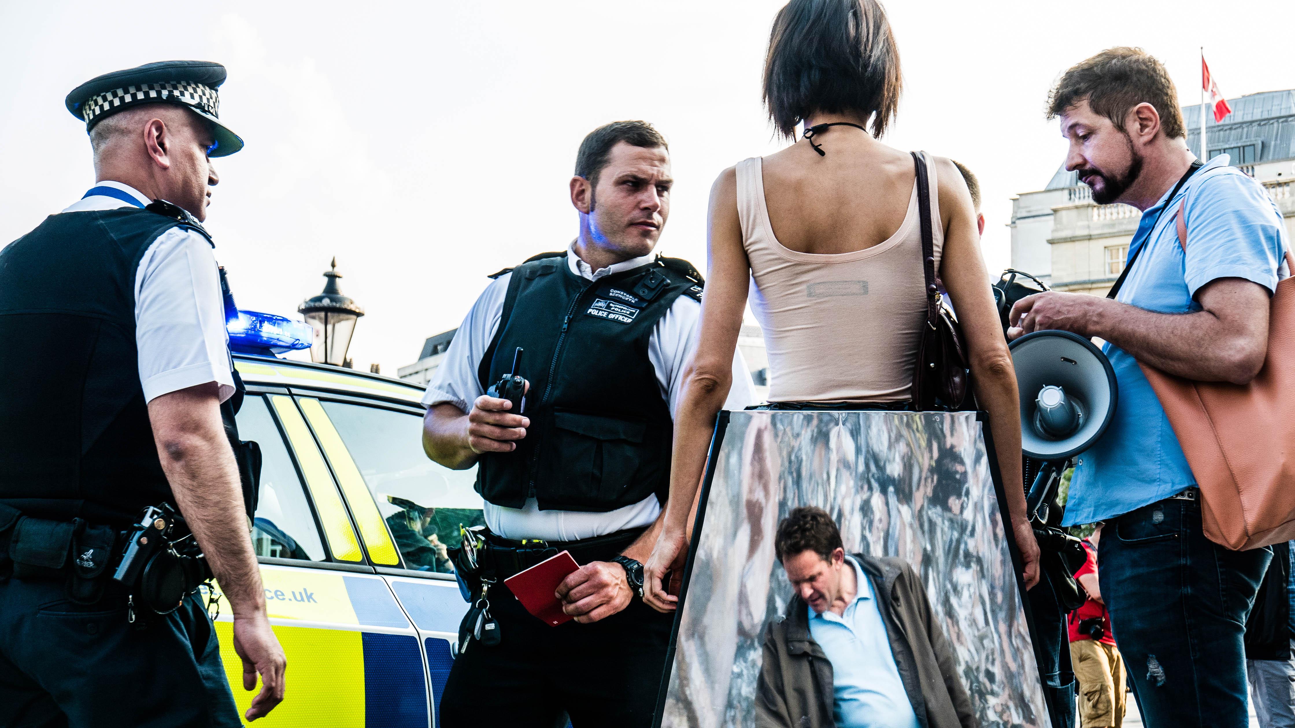 Milo Moiré arrested