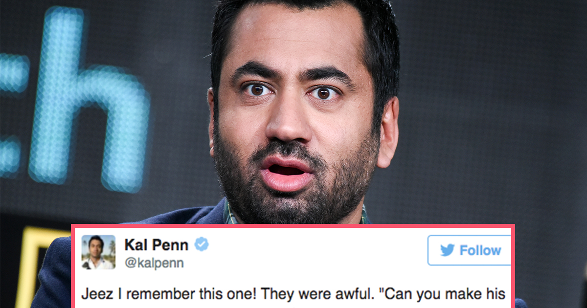 Kal Penn Just Posted Screenshots of Hollywood Scripts to Highlight Racism in Casting