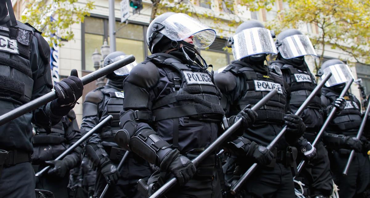 Portland Riot Police