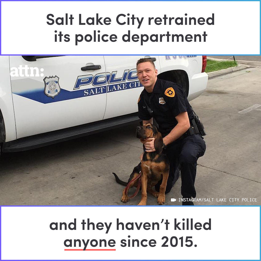 This Police Department Hasn't Killed Anyone Since 2015 ...