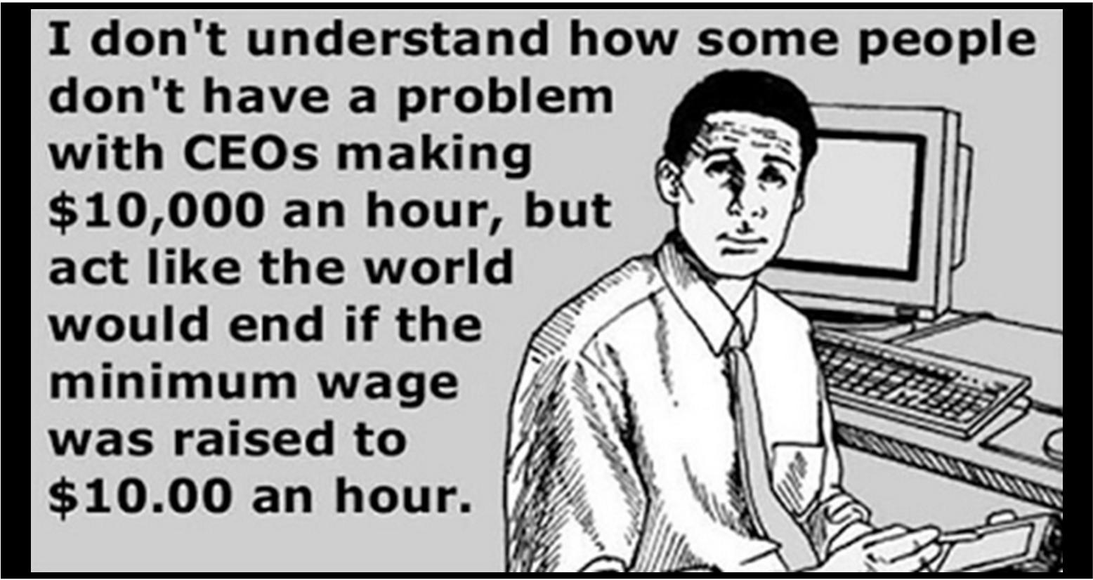 CEO Minimum Wage