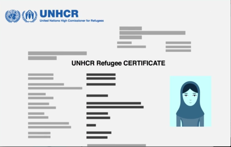Refugees Apply to the U.N.