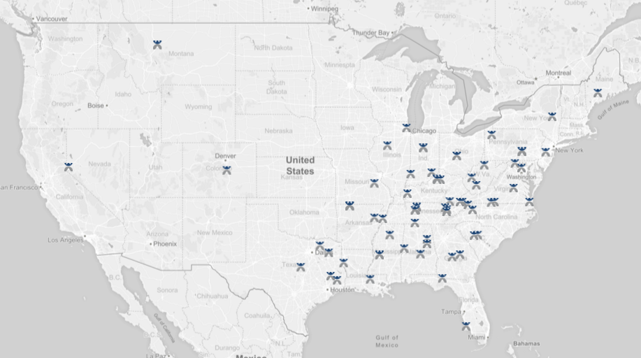 This Map Shows Where Active US Hate Groups Operate ATTN - Kkk map us