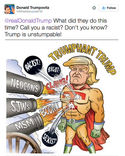 Donald Trump Superhero comic
