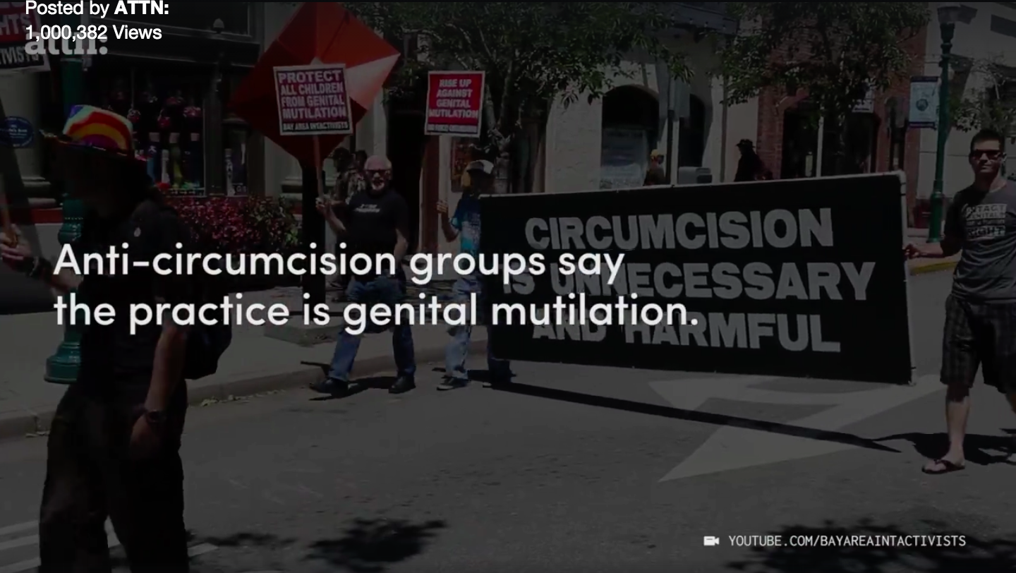 Anti Circumcision Activists