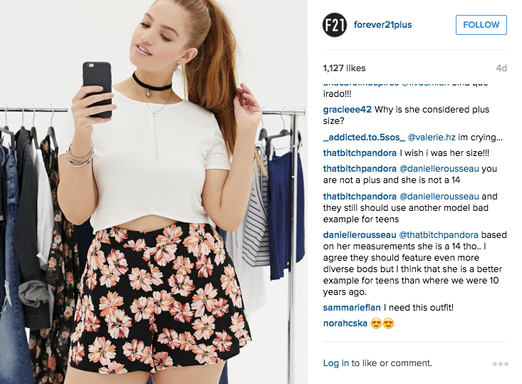 b2005ecfab Forever 21's Plus-size Instagram Is Enraging Customers - ATTN: