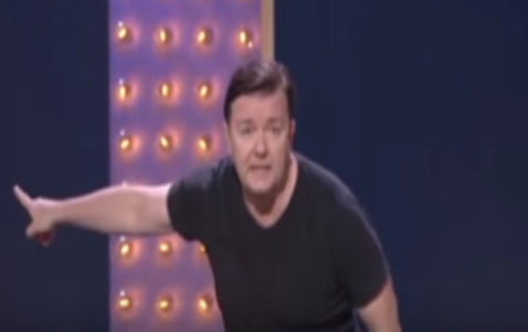 Ricky Gervais From His 2008 Comedy Special, Out of England