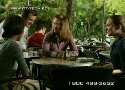 ITT Tech commercial