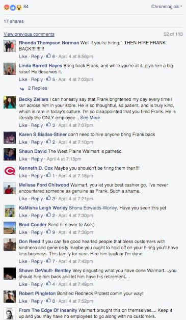 Wal-mart West Plains Comments