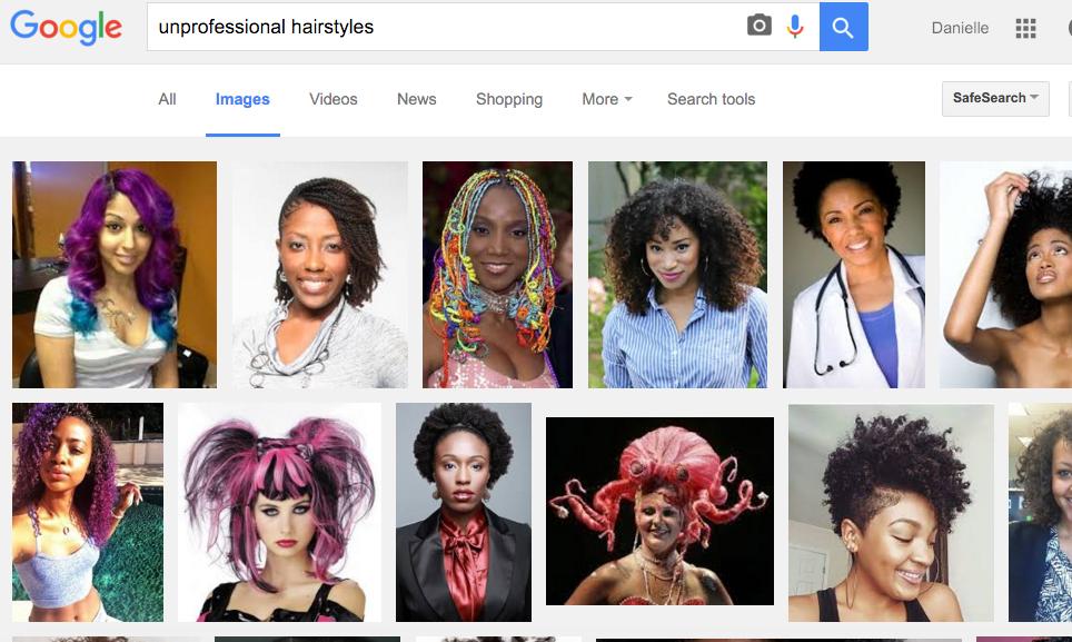 Google Image Search Black Hair