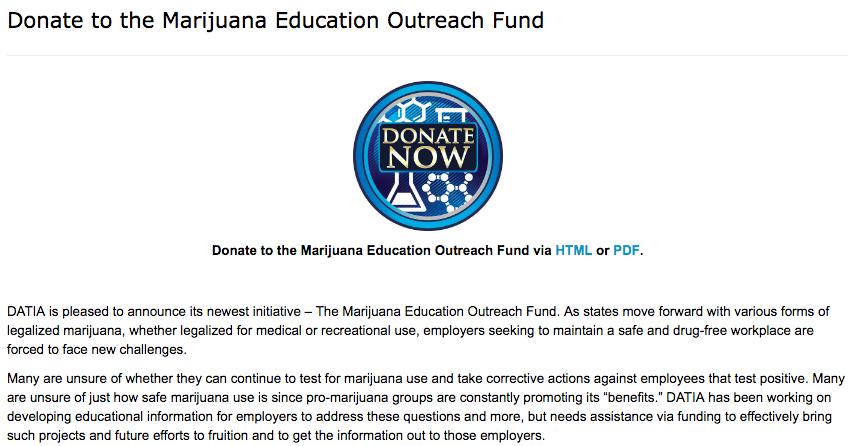 Marijuana Education Outreach Fund